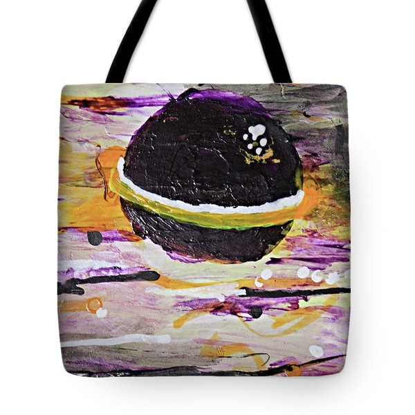 Purple Planet Tote Bag