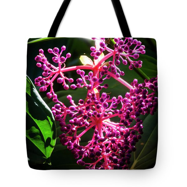 Purple Plant Tote Bag