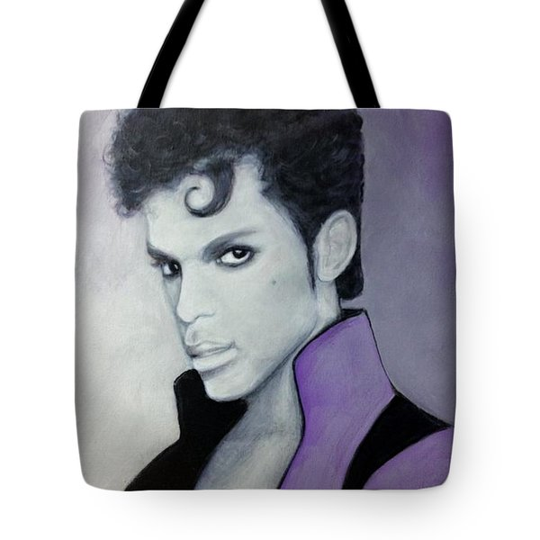 Purple Prince Tote Bag