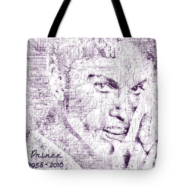 Purple Rain By Prince Tote Bag