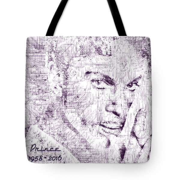 Purple Rain By Prince Tote Bag