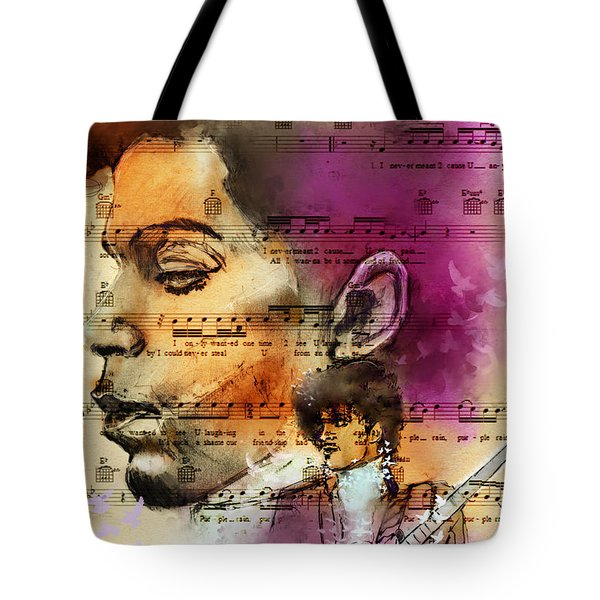 Purple Rain Forever Tote Bag