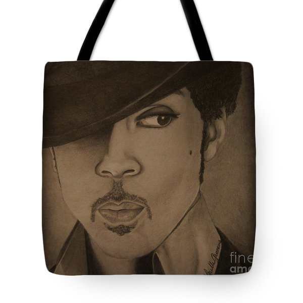 A Legend Tote Bag by Lorelle Gromus
