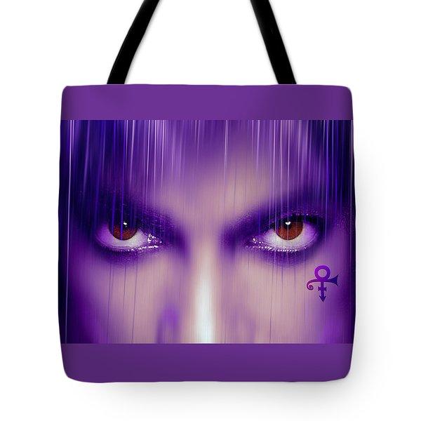Purple Rain Purple Rain Tote Bag