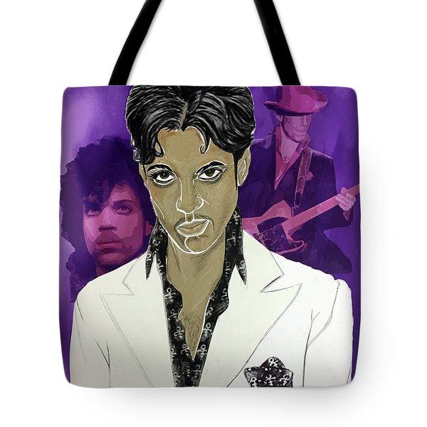 Purple Reign 1959 - 2016 Tote Bag