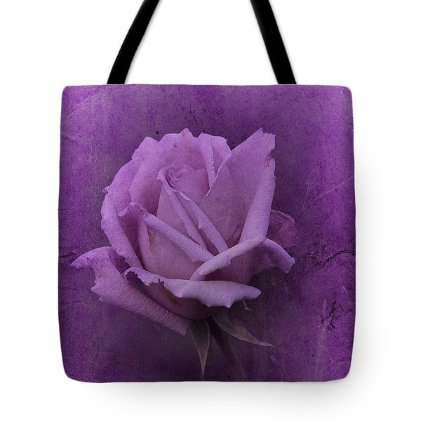 Purple Rose Of November No. 2 Tote Bag