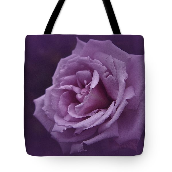 Purple Rose Of November Tote Bag