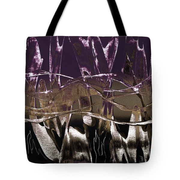 Purple Royale Tote Bag