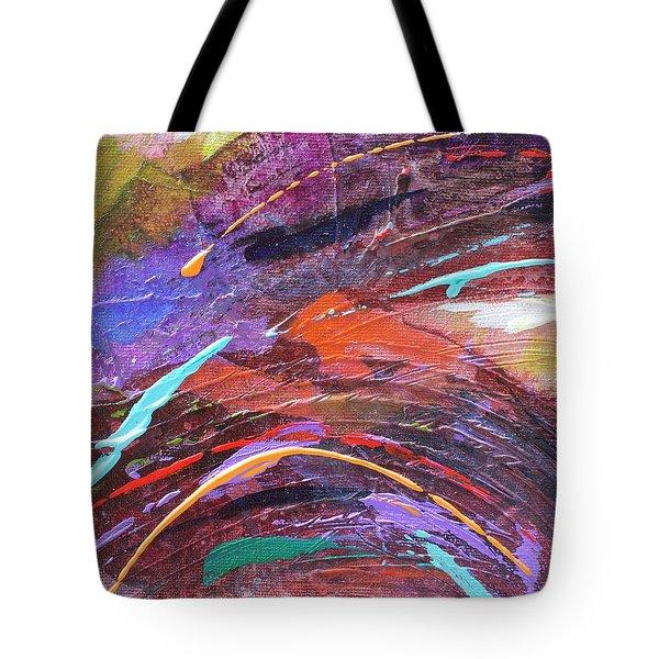 Purple Rush Tote Bag
