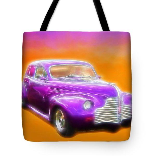 Purple Shadow Cruiser Tote Bag