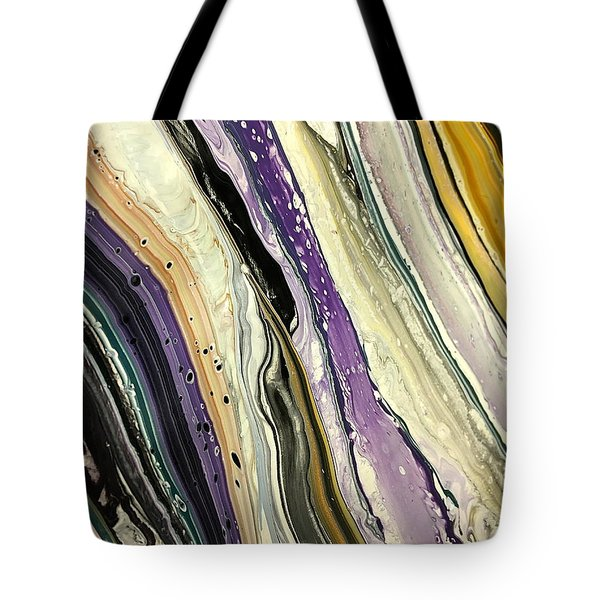 Purple Slate Tote Bag