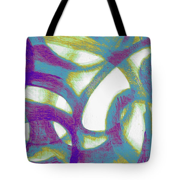 Purple Soul Tote Bag