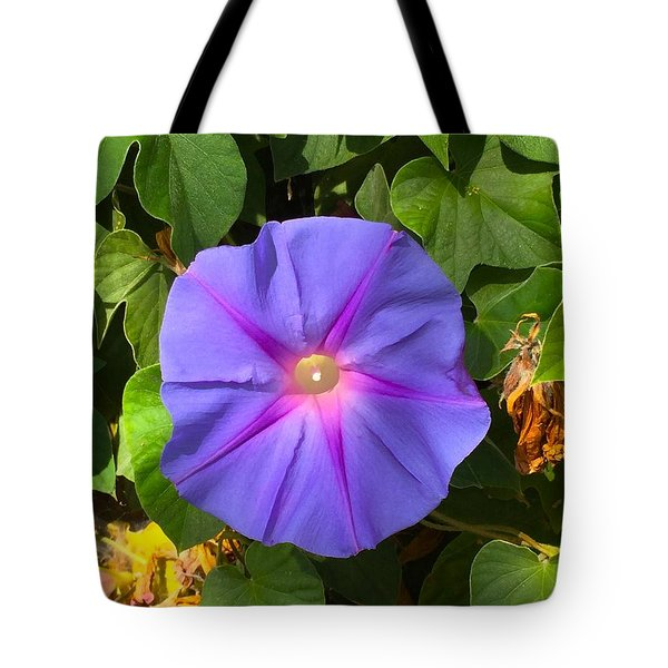 Purple Star Tote Bag