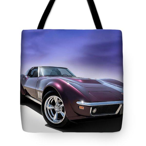 Purple Stinger Tote Bag