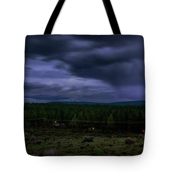 Tote Bag featuring the photograph Purple Strikes by Cat Connor