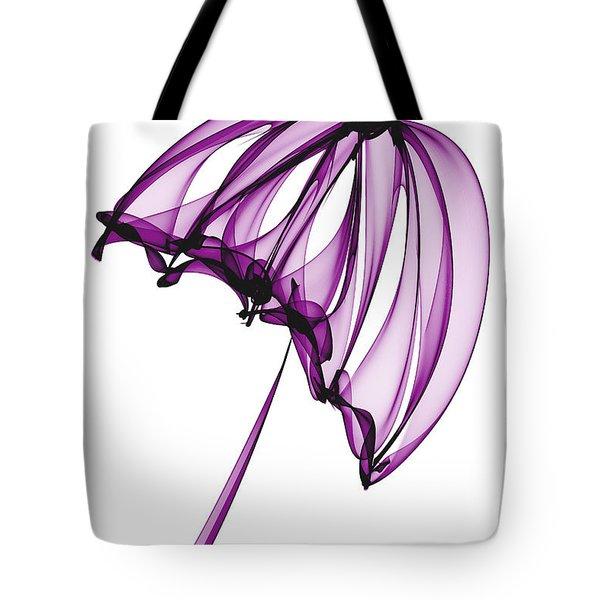 Purple Umbrella Tote Bag