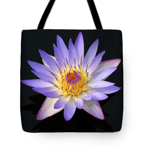Purple Water Lily In A Pond Maui Hawaii Tote Bag