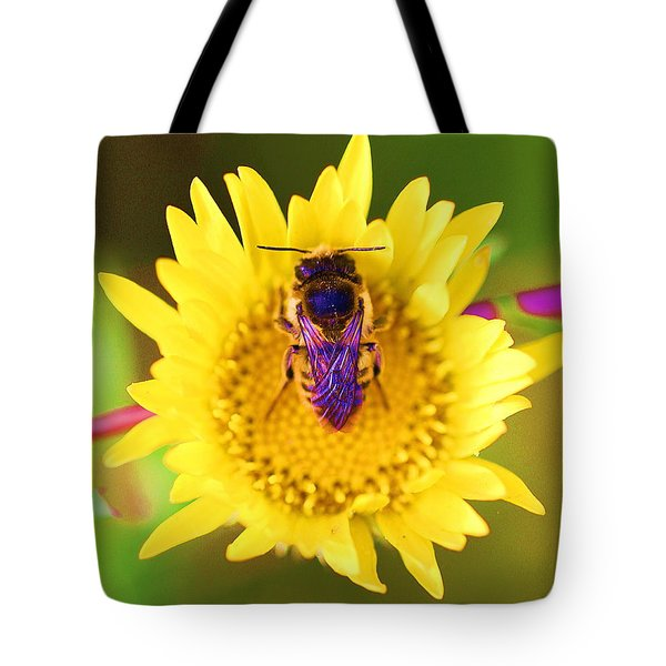 Purple Wings Tote Bag