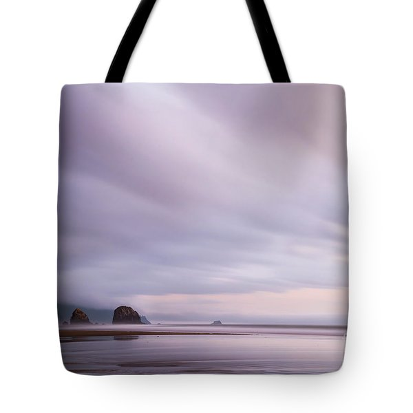 Purple Wisp In The Morning Tote Bag