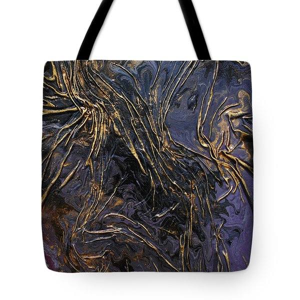 Purple With Texture Tote Bag