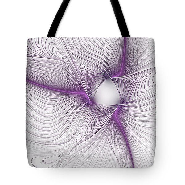 Purplish Tote Bag