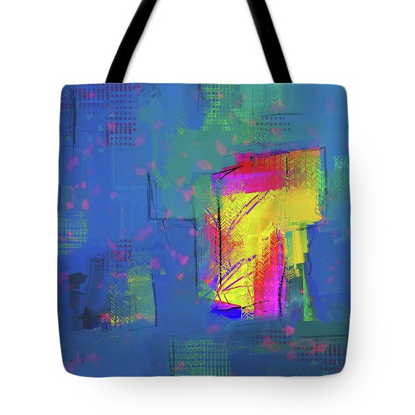 Purplish Rain Tote Bag