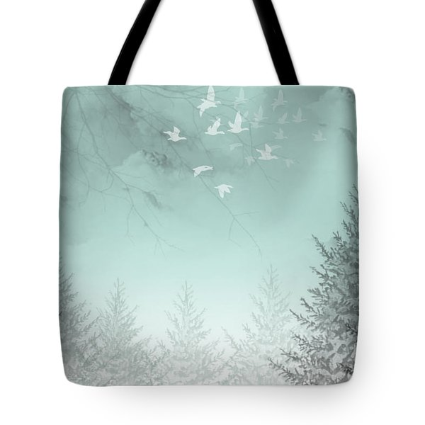Tote Bag featuring the painting Purpose Driven by Trilby Cole