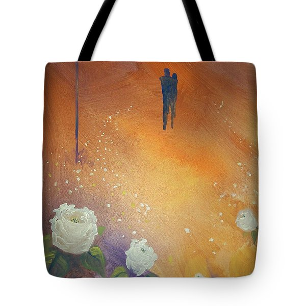 Tote Bag featuring the painting Purpose by Raymond Doward