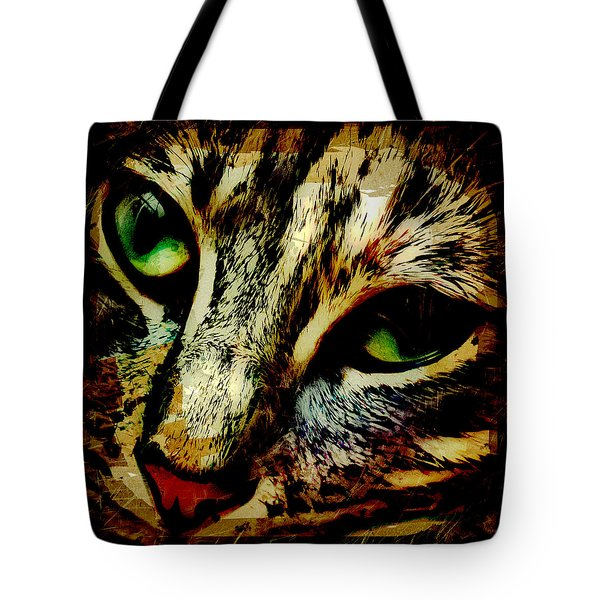 Purr-fect Love Tote Bag by David G Paul