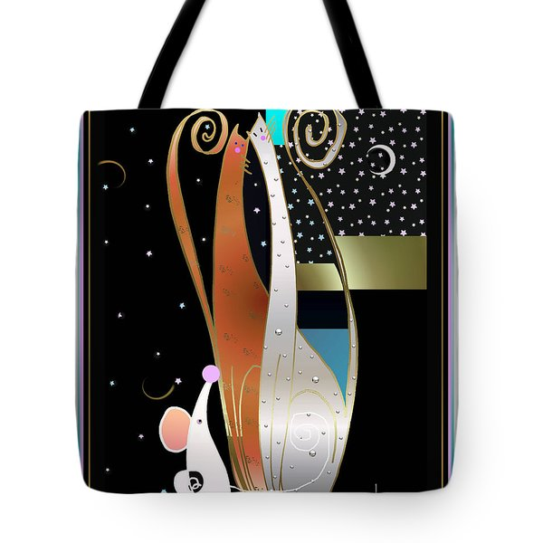 Purry Purry Night Tote Bag