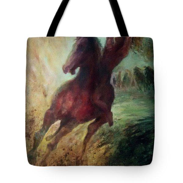 pursuit of Avshalom Tote Bag