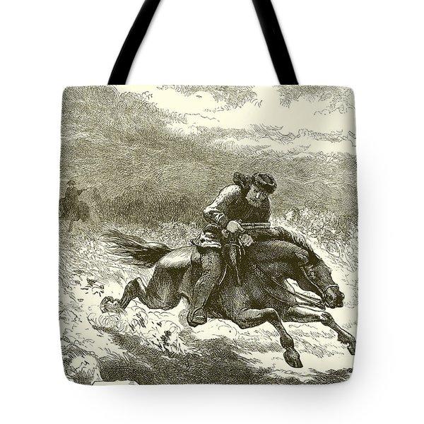 Pursuit Of Paul Revere Tote Bag