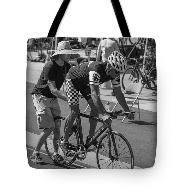 Pursuit Start Tote Bag