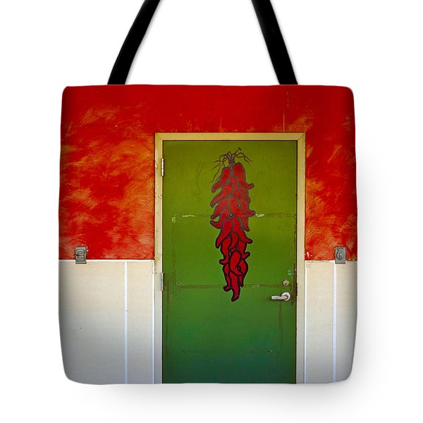 Painted Peppers Tote Bag