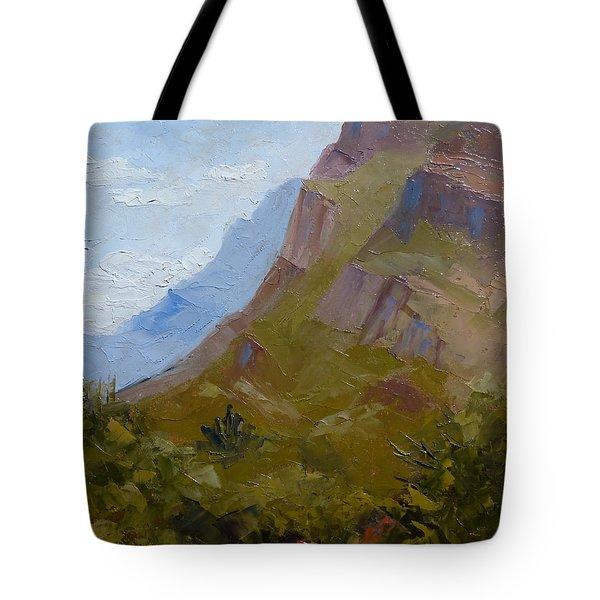 Pusch Ridge I Tote Bag by Susan Woodward