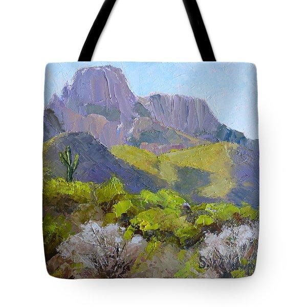 Pusch Ridge II Tote Bag