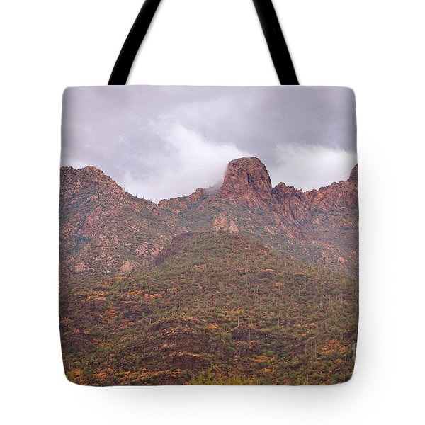 Pusch Ridge Tucson Arizona Tote Bag