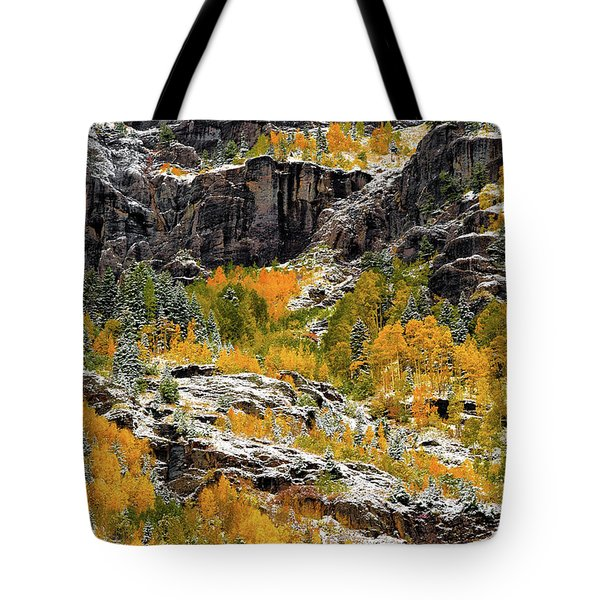 Push Starting Winter Tote Bag