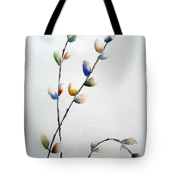 Pussy Willows Tote Bag by Joanne Smoley