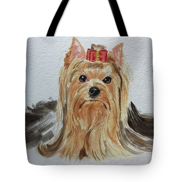 Put A Bow On It Tote Bag