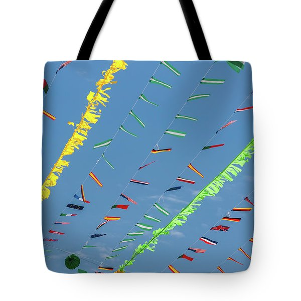 Put The Flags Out Tote Bag