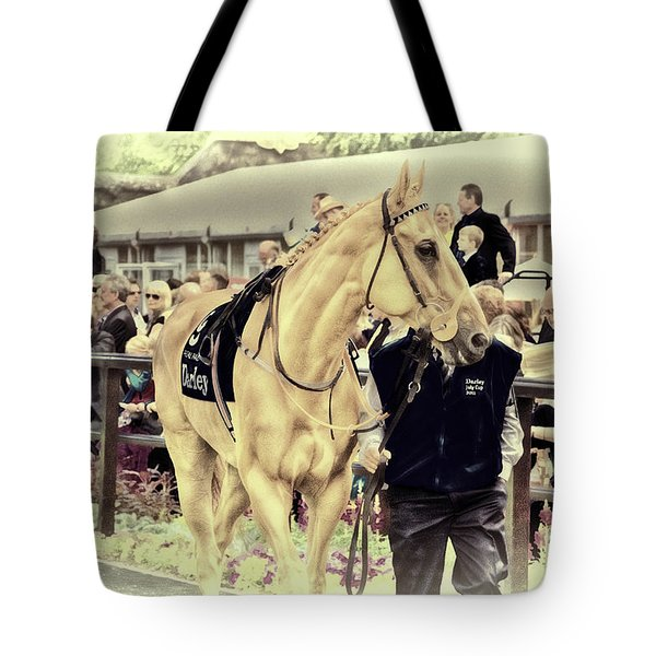Tote Bag featuring the photograph Putra Pulai At Newmarket by Jack Torcello