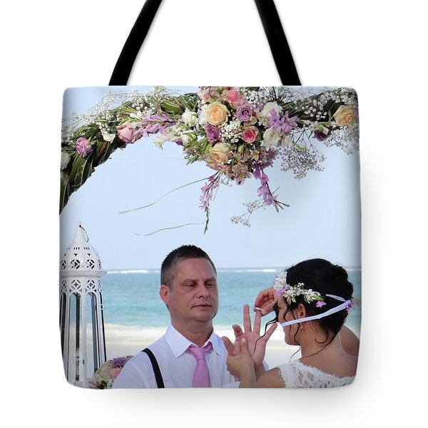 Putting On The Ring Tote Bag