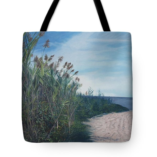 Putting Out To Sea Tote Bag