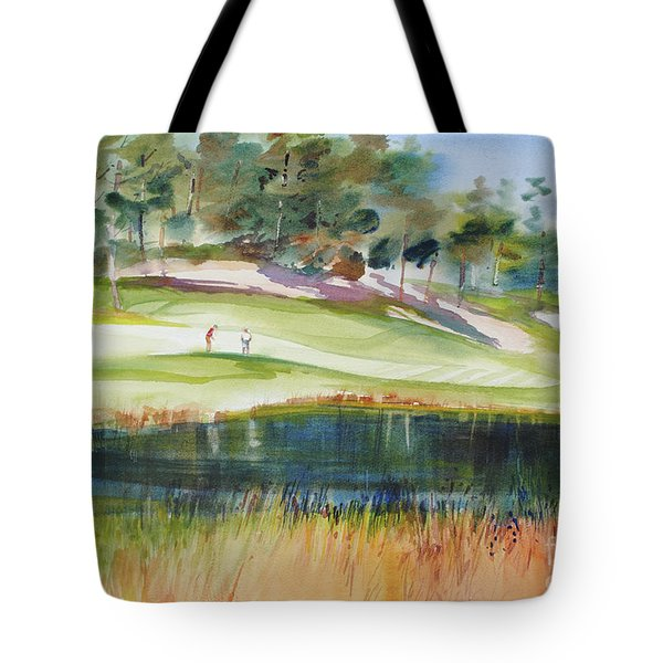 Putting Pine Hills Tote Bag