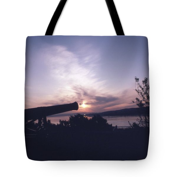 Putting Up The Sun Tote Bag
