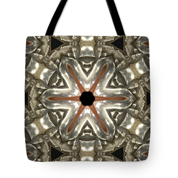 Puzzle In Taupes Tote Bag