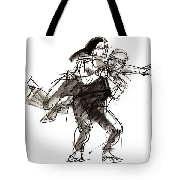 Puzzle Pieces Four Tote Bag