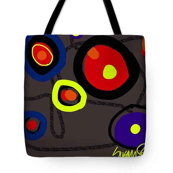 Puzzled In A Pool Of Thought Tote Bag