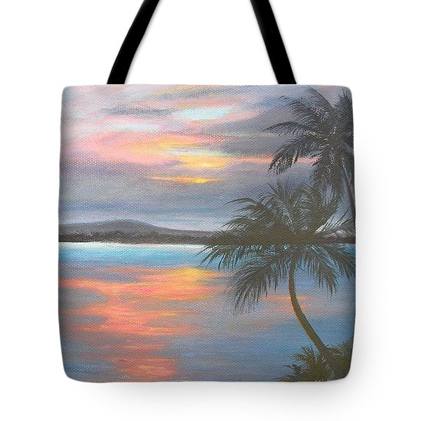 Pv Skies  Tote Bag